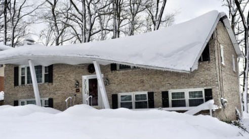 Snow Load Alert Protect Your Roof Home